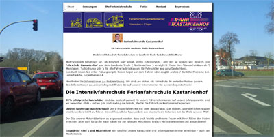 Kastanienhof Hamburg stade internetfirma internetagentur seo agentur